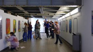 Motiv Bildnerische Bahnhofspflege 2016