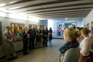 Eröffnung des Projektes durch die Bürgermeisterin und Vertreter der Deutschen Bahn