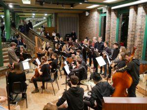 Oberstufenorchester der Waldorfschule Stade